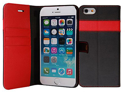 2. AceAbove iPhone 6S leather wallet case
