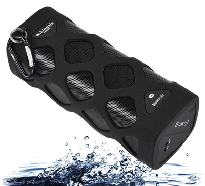 25. Wireless Bluetooth Speaker (Waterproof, Shockproof, Dustproof & Anti-scratch)