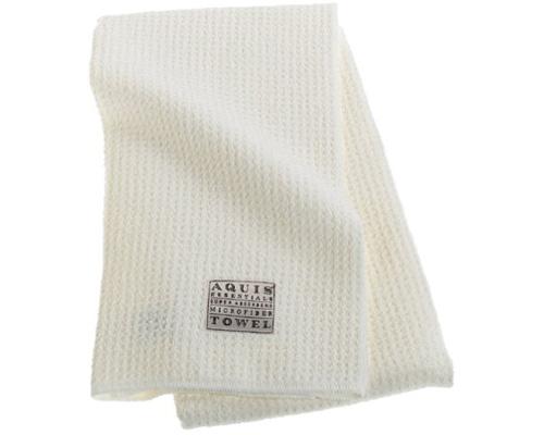6. Aquis Microfiber Hair-Towel