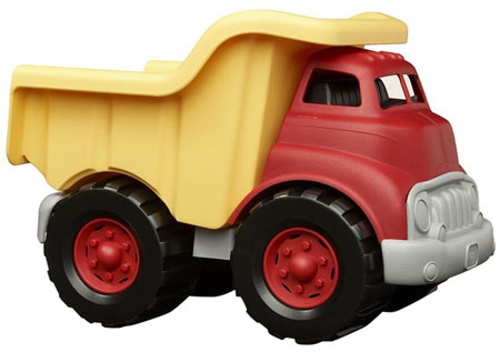 6. Green Toy's Dump Truck