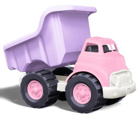 13. Green Toys Dump Truck, Pink