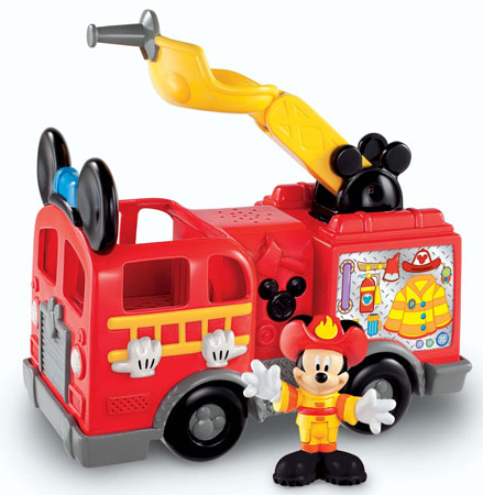 7. Fisher-Price Disney's Mickey's Fire Truck