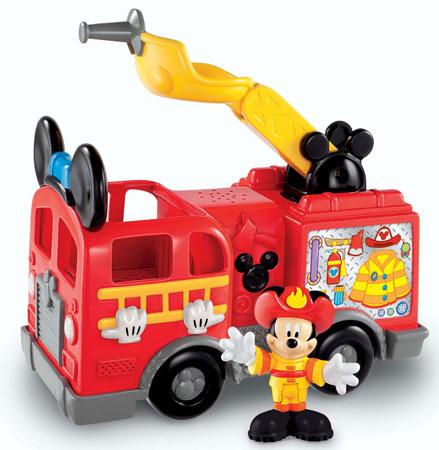 7. Fisher-Price Disney's Mickey's Fire Truck