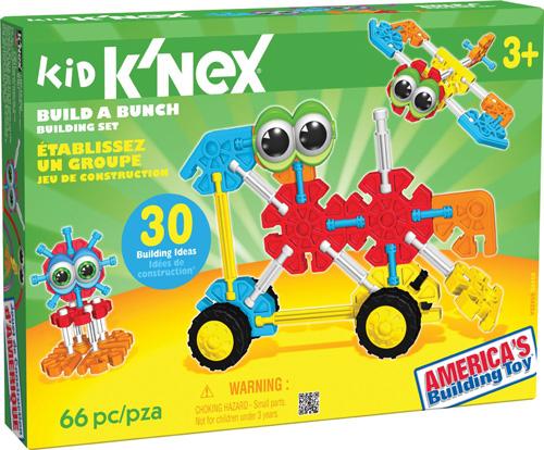 10. K'NEX Build a Bunch