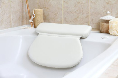2.#1 Top Rated Luxury Spa Bath Pillow Large-Strongest Suction Cups