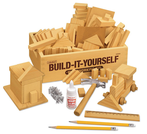 2. Build-It-Yourself Woodworking Kit