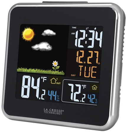 8. La Crosse Technology 308A-146 Color LCD Forecast Station