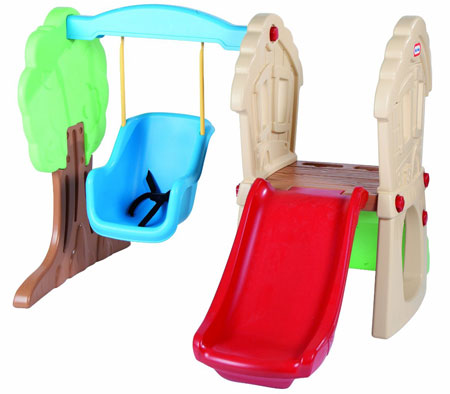 5. Little Tikes Hide and Seek Climber and Swing