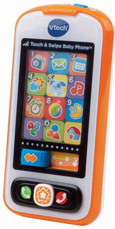 2. Touch and Swipe Baby Phone