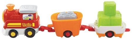 15. VTec Go! Go! Smart Wheels Carry-All Cargo Train
