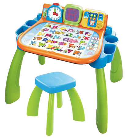 4. Touch and Learn Activity Desk