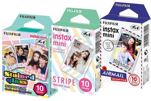 14. Fuji Instax Mini Films Airmail