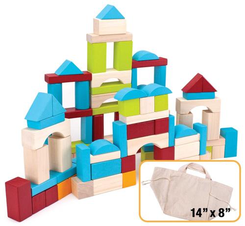 6. Wooden Block Set Imagination Generation