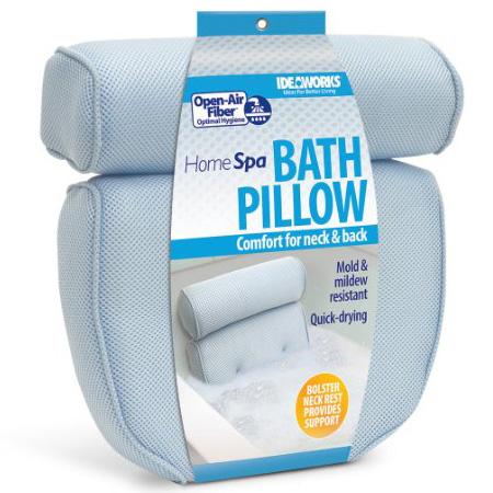 10.Ideaworks - Home Spa Bath Pillow, 14