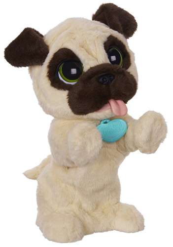 3. My Jumpin' Pug Pet Plush