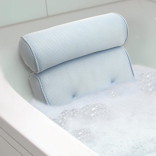 8.Home Spa Bath Pillow - Supportive Comfort For Neck And Back While In The Tub