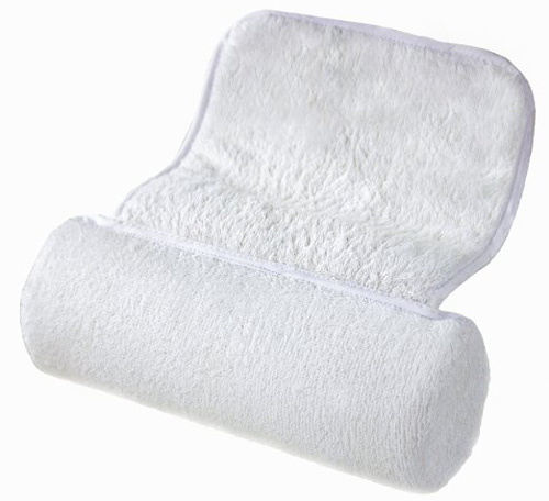 19.Zleepi Premium Bath Pillow. Soft Terry Towel, Non Slip Suction Caps. Luxury Design to Support Shoulder and Neck.