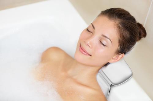 5.Luxury SPA Bath Pillow - Waterproof and Slip-proof