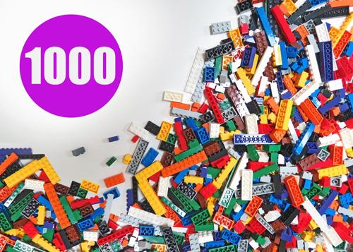 14. Building bricks regular Colors