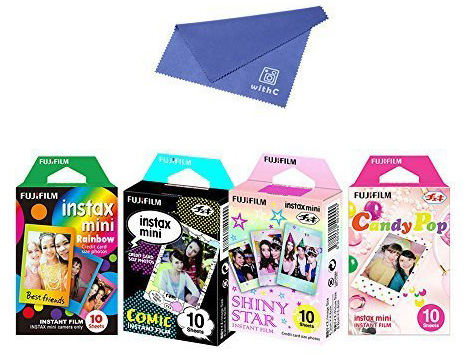 13. Fujifilm Instax Mini Film 4 Pack Bundle, Top 15 Best Polaroid & Fujifilm Instant Camera Films