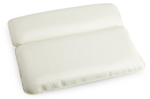 17.Halovie Non-Slip Spa Bath Pillow Bathtub Cushion Memory Foam Headrest,Comfortable and Soft,White