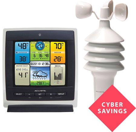 9. AcuRite 3-In-1 Professional Weather Centre