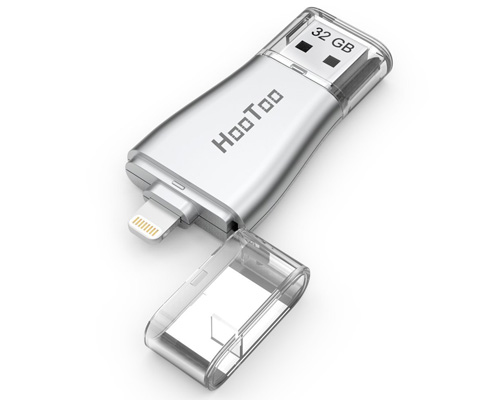 5. iPhone Flash Drive of 32GB with USB 3.0 Adapter