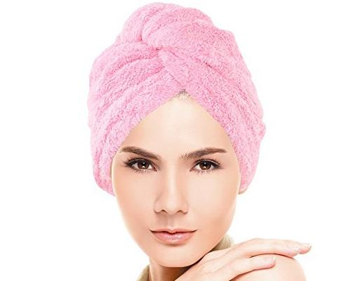 1. Huluwa Hair-Drying Towel