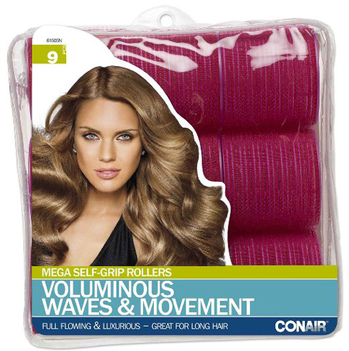 10. Conair Mega Self Holding Rollers, 9 Count, Choosing The Best Hair Rollers To Buy