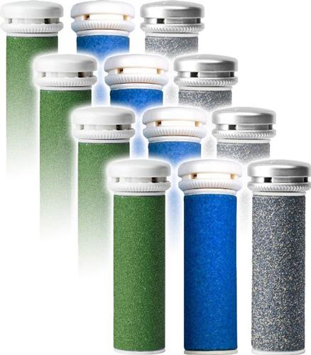 3. Emjoi Micro-Pedi Refill Rollers- 12 Pack