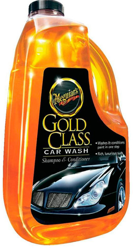 #1. Meguiar's G7164 Gold Class Car Wash Shampoo & Conditioner