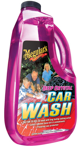 #3. Meguiar's G10464 Deep Crystal Car Wash