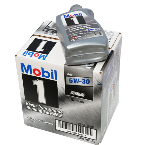 #3. Mobil 1 Synthetic Motor Oil