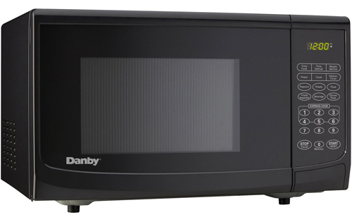 #1. Danby DMW7700BLDB 0.7 cu. ft. Microwave Oven