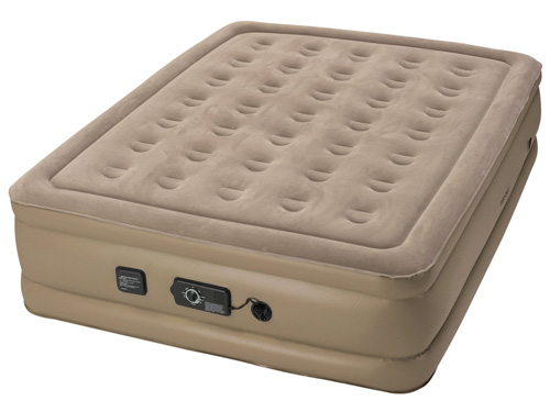 #4. Insta-Bed Raised Air Mattress with Never Flat Pump