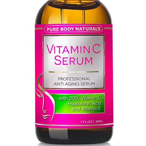 #1. Vitamin C Serum for Face with Hyaluronic Acid