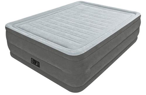 #1. Intex Comfort Plush Elevated Dura-Beam Airbed, Bed Height 22