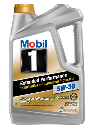 #1. Mobil Extended Performance Motor Oil