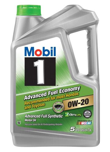 #5. Mobil 1 Advanced Full Synthetic Motor Oil