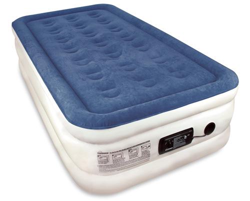 #3. Twin Sized SoundAsleep Dream Series Air Mattress with ComfortCoil Technology & Internal High Capacity Pump