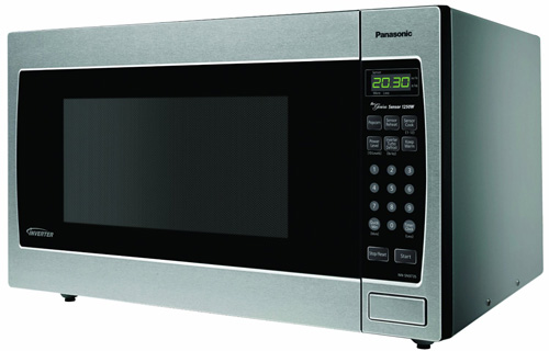 #5. Panasonic NN-SN973S Stainless 2.2 Cu. Ft. Countertop/Built-In Microwave with Inverter Technology