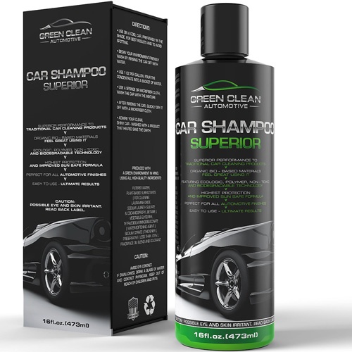 #10. Green Clean Automotive - Car Shampoo Superior