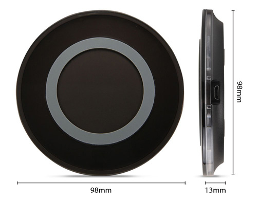 #5. GMYLE Qi Wireless Charger Charging Pad