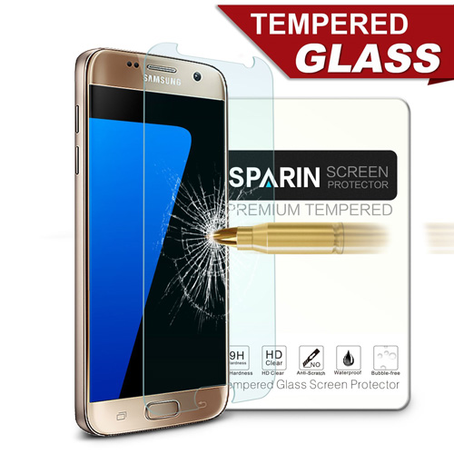 #13. Sparin Brand Galaxy S7 Screen Protector
