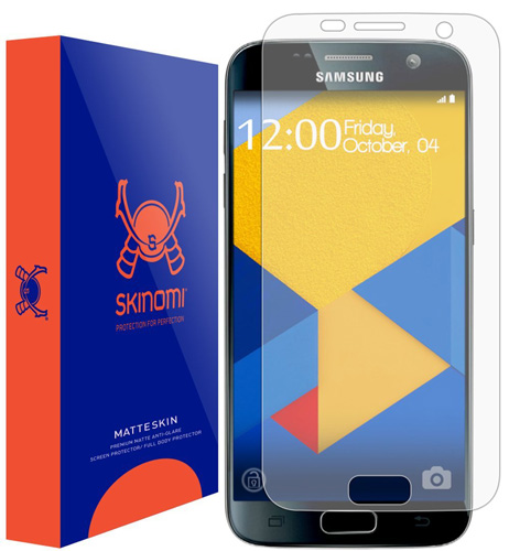 #12. Skinomi® MatteSkin Screen Protector For Samsung Galaxy S7