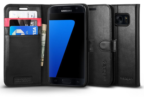 #15. Wallet S Case For Samsung Galaxy S7 By Spigen