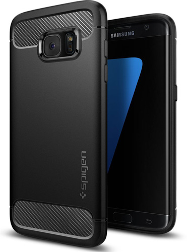 #14. Galaxy S7 Edge Case, Spigen® [Rugged Armor]