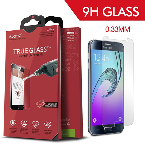 #11. iCarez Premium Tempered Glass Screen Protector for Samsung Galaxy S7