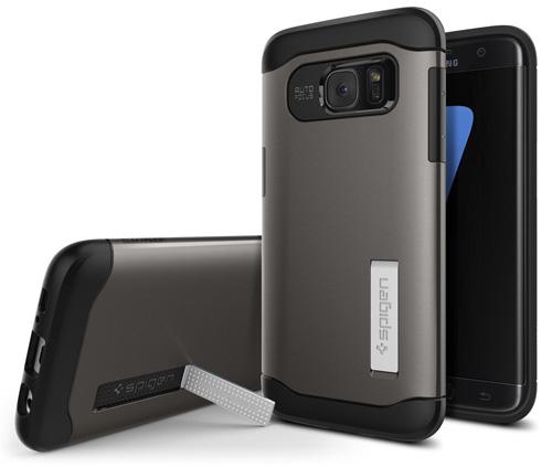 #3. Galaxy S7 Edge Case, Spigen