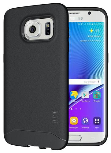 #12. Galaxy S7 Edge Case - TUDIA Ultra Slim Full-Matte ARCH TPU Bumper
